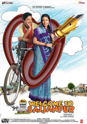 Welcome To Sajjanpur 2008 480p HDRip 400MB Download