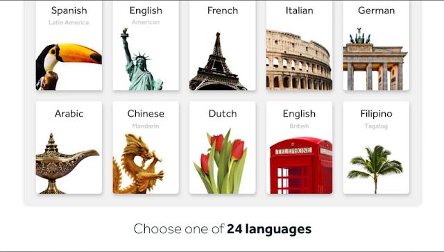 افضل تطبيقات تعلم اللغات