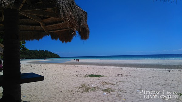 Fine, soft sands of Santiago White Beach