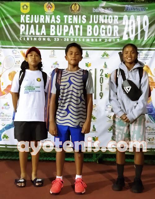 Kejurnas Tenis Yunior Piala Bupati Bogor: Atlet Cibubur Tennis Camp Belum Terbendung