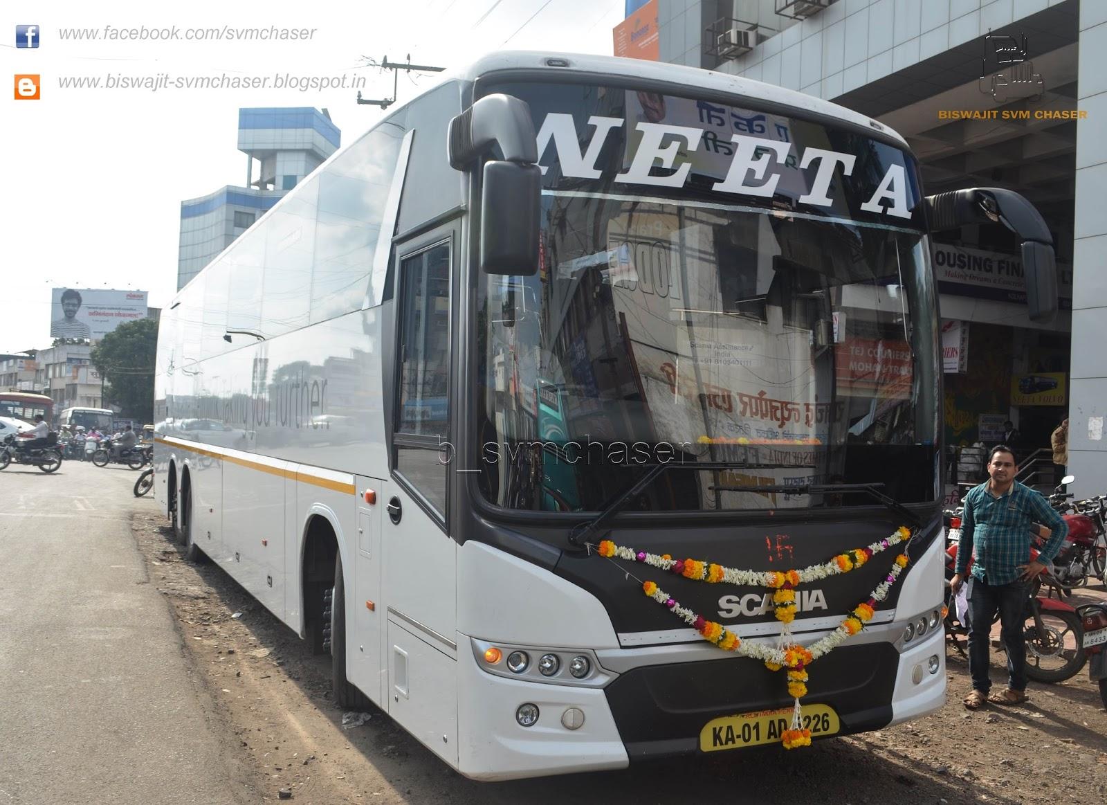 neeta scania metrolink hd multiaxle semi sleeper  on trial