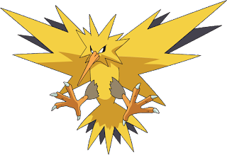 Pokemon langka Zapdos