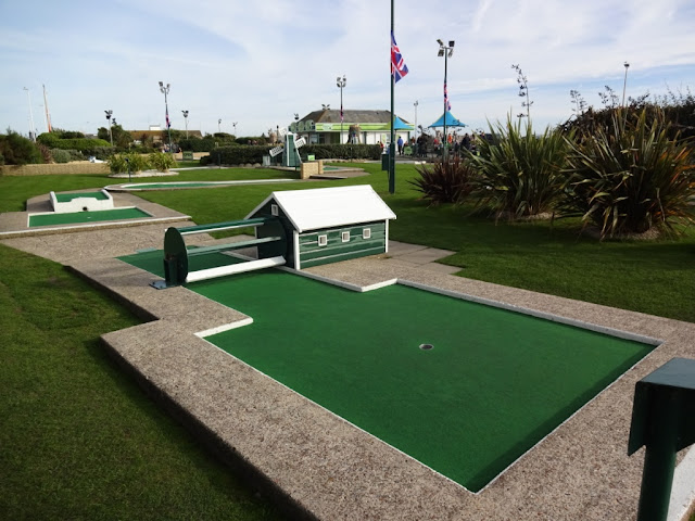 Hastings Crazy Golf in 2015