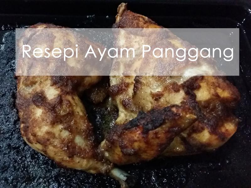 Ayam Panggang dan Sos Blackpepper