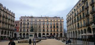 Girona, Plaza de la Independencia.