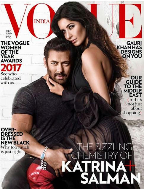 Katrina Kaif & Salman Khan Vogue India Photoshoot