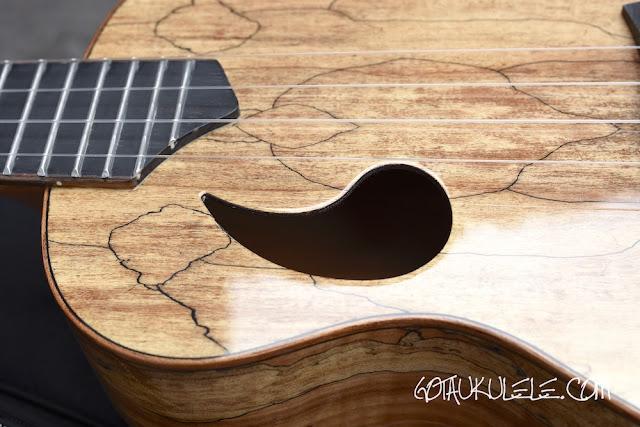 Snail BH-1C Ukulele sound hole