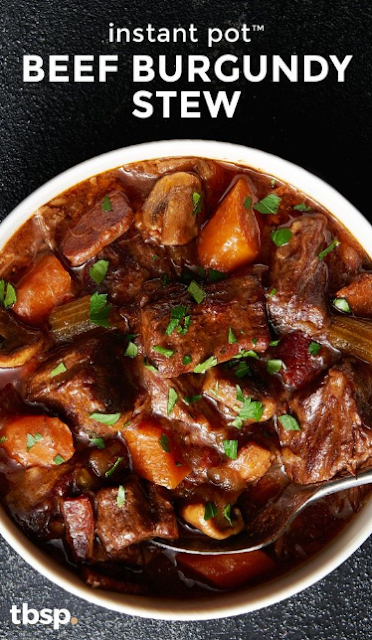 Instant Pot Beef Burgundy Stew
