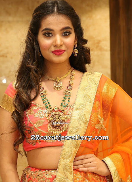 Vaishnavi Rao Emerald Beads Chain