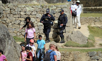 Turistas expulsados de Machu Picchu, obscenidades en el Machu Picchu