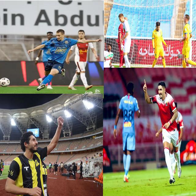 نتائج الجولة السادسة من الدوري السعودي