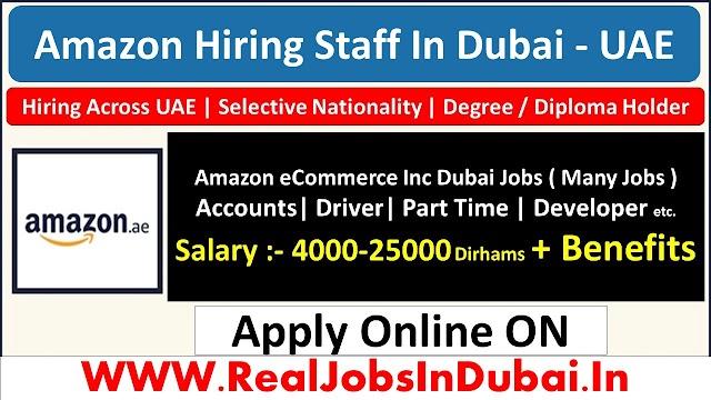 Amazon Jobs In Dubai  UAE 2021