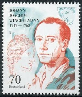 Germany 2017 Johann Joachim Winckelmann Art Historian