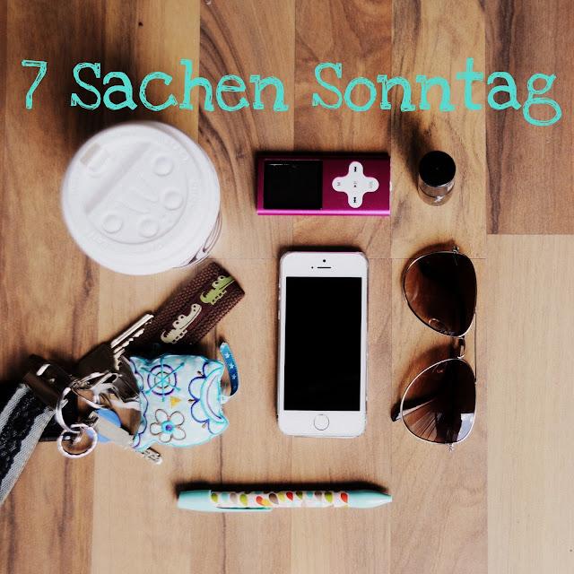 GrinseStern Sieben Sachen Sonntag, Blog