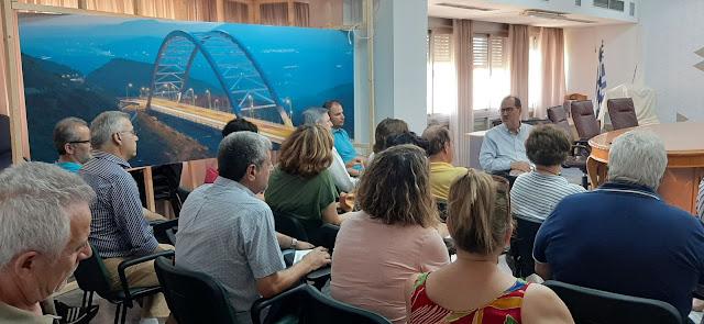 Συνεχίζεται η ενημέρωση του Π. Νίκα από Διευθυντικά στελέχη της Περιφέρειας Πελοποννήσου
