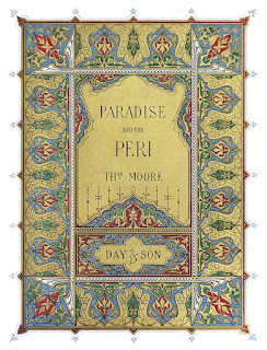 paradise and the peri illuminated title page
