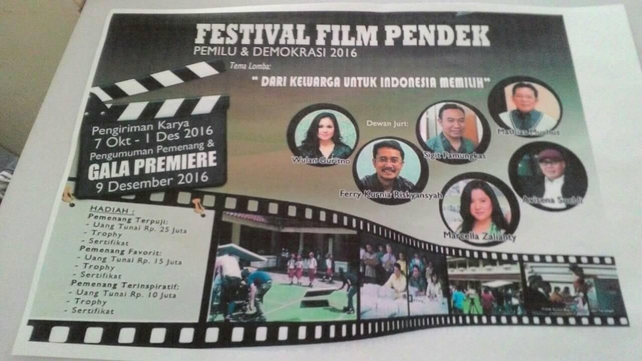 Festival Film Pendek 2016 dari KPU RI
