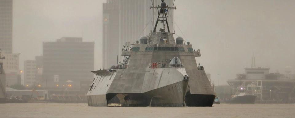 Austal USA передала ВМС США 14-й LCS класу Незалежність
