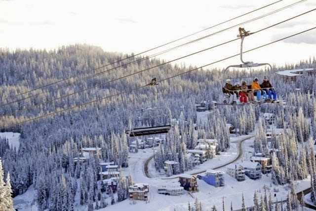 Silver Star Ski Resort, British Columbia - Where is the Best Place for Skiing And Snowboarding in Canada