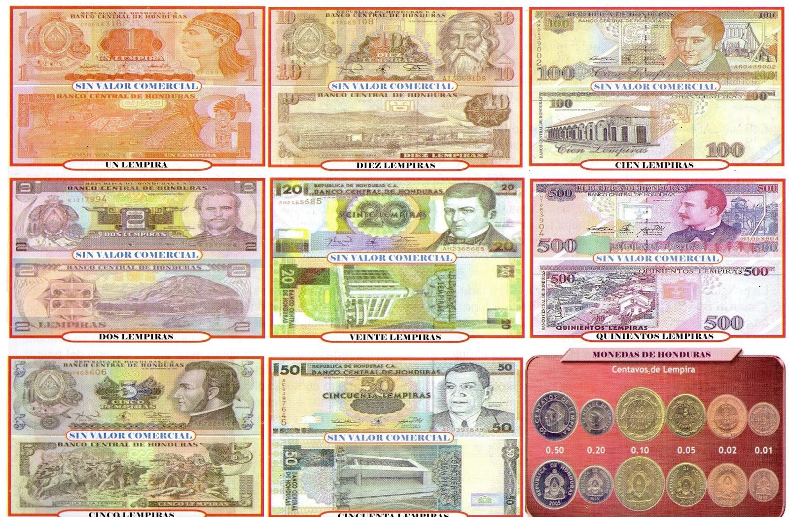 Monedas De Honduras