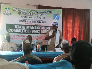 Niger-NYCN holds maiden State Management Committee Meeting  - Passes vote of confidence on Shariff