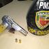 Polícia Militar detém jovem por assalto à mão armada contra um mercadinho no Parque São Pedro