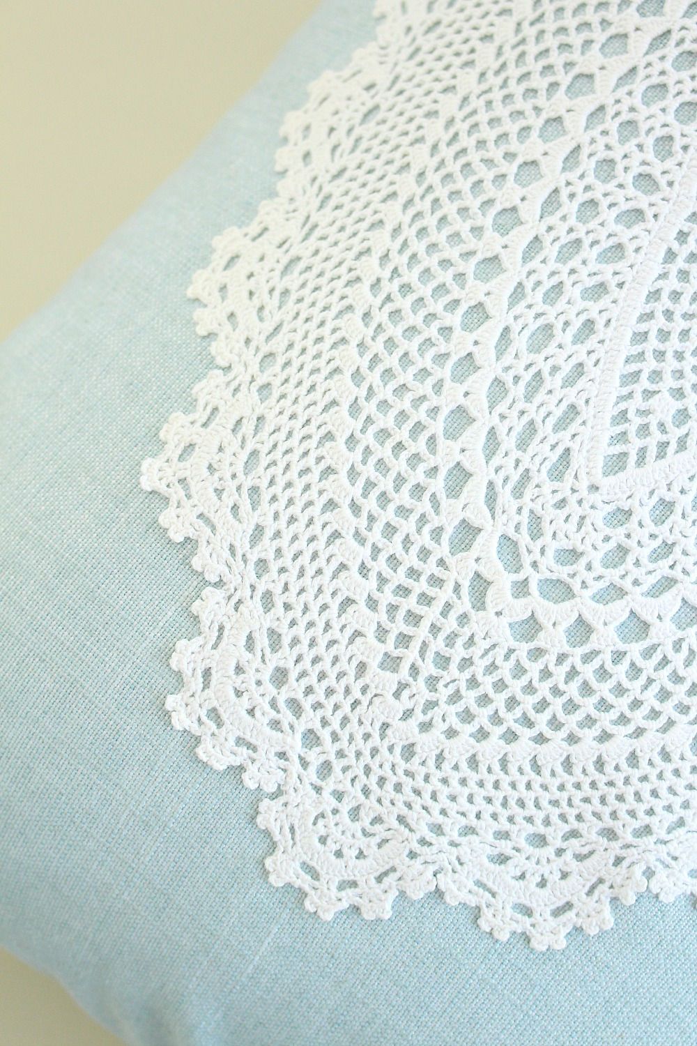 Make you own doily applique