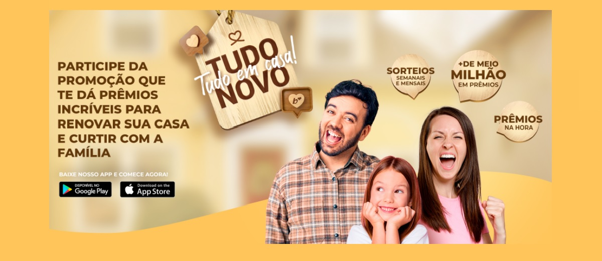Promoção Tudo Novo Tudo em Casa Barbosa 2021 Supermercados - Prêmios na Hora e Sorteios