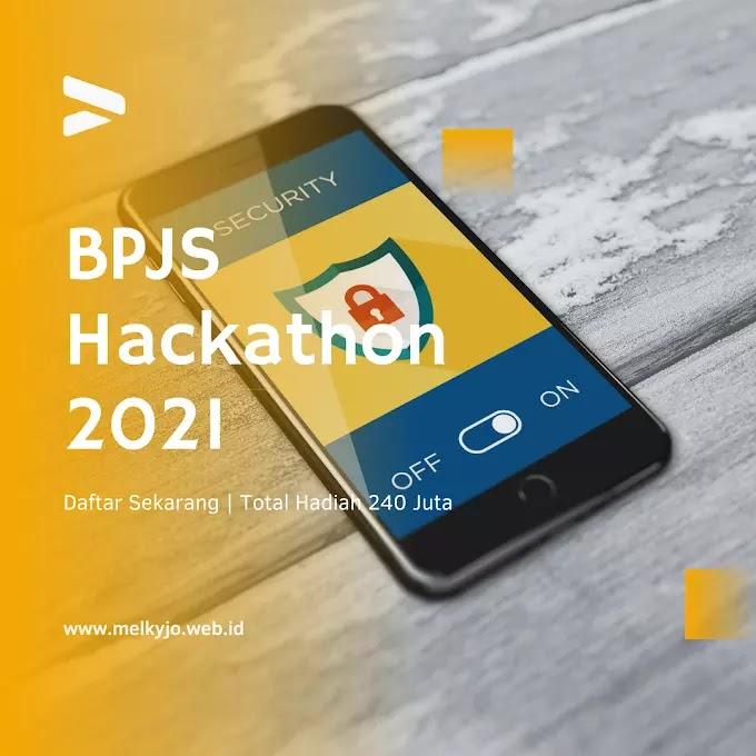 Cara Daftar Kompetisi BPJS Kesehatan Hackathon 2021