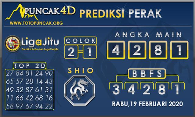 PREDIKSI TOGEL PERAK PUNCAK4D 19 FEBRUARI 2020