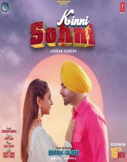 Kinni Sohni - (Gidrah Singhi) Jordan Sandhu  Song Lyrics Mp3 Audio & Video Download
