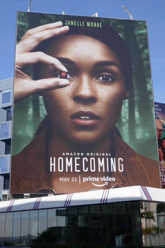 Giant Janelle Monae Homecoming season 2 billboard