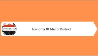 Economy Of Mandi District