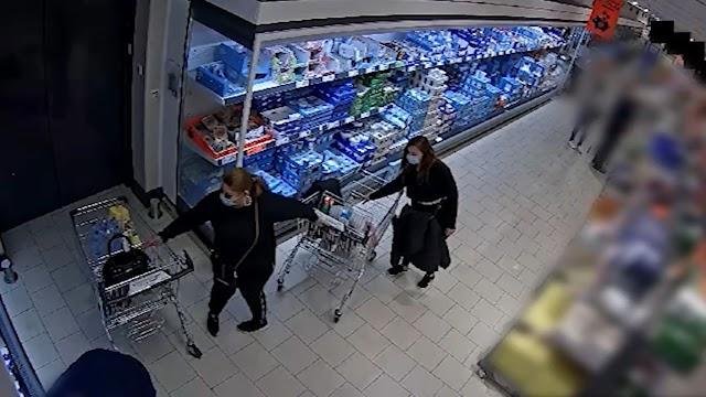 Egy pillanatra hátat fordított a vevő, két nő ellopta a pénztárcáját a bevásárlókocsijából – videó
