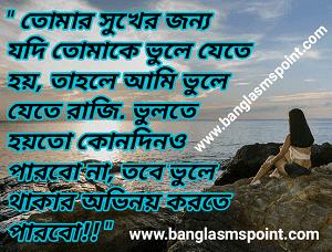 Bengali sad shayari photo