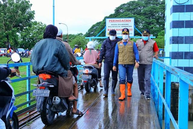 Tinjau Bendungan Wilalung, Hartopo Koordinasikan Langkah Antisipasi Bencana