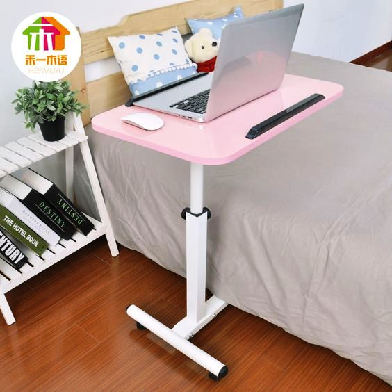 Bed Computer Desk Desk Simple Moving Small Table Across The Bed Tables Kang Table  Desk Notebook