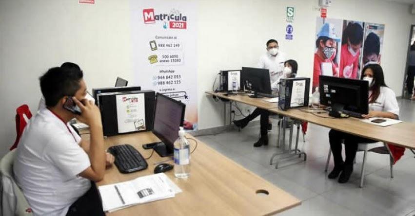 MINEDU: Matrícula en los colegios públicos es gratuita, reitera el Ministerio de Educación - www.minedu.gob.pe