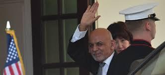 Afghanistan's President Ghani leaves country for Tajikistan