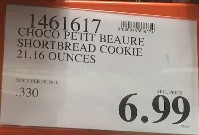 Deal for Griesson Choco Petit Beaure Milk Chocolate Shortbread Cookies at Costco