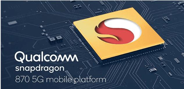 Qualcomm Announces Snapdragon 870 5G Mobile Platform