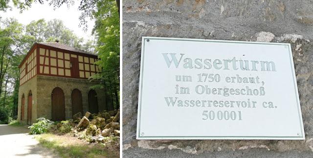 Eremitage Bayreuth - Wasserturm