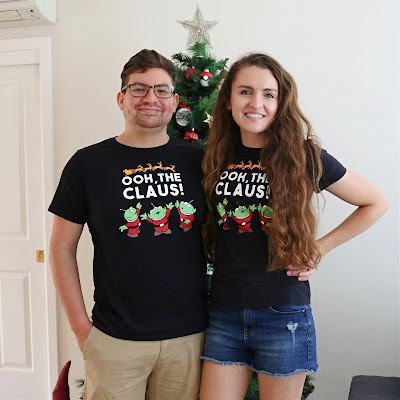 Annual Christmas Tees - Custom T-Shirts made with the Cricut Maker