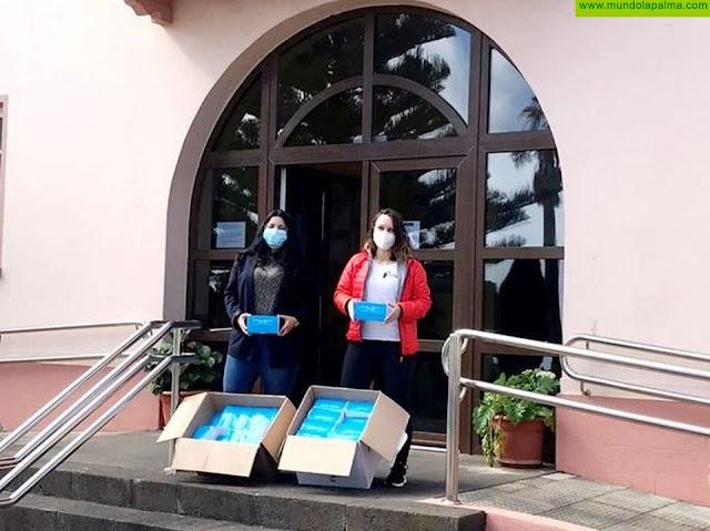 Barlovento reparte 3000 mascarillas entre sus comercios
