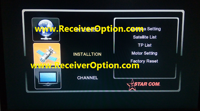STARCOM GX6605S HW203.00.029 TYPE HD RECEIVER NEW SOFTWARE