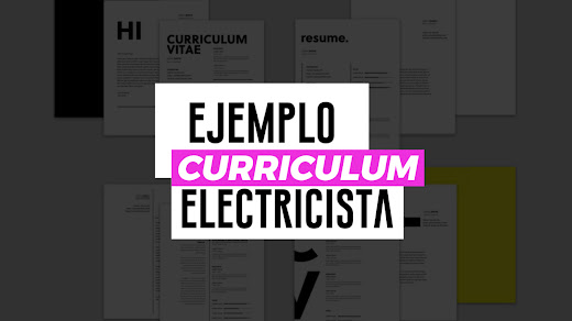 Muestra de curriculum vitae de electricista