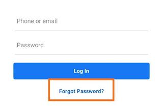 Facebook ka password bhul gaya