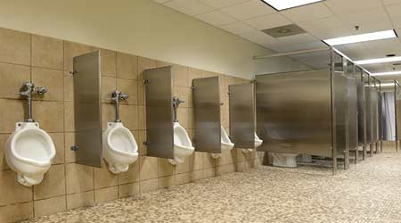 Court Orders Man To Wash Public Toilets For 30 Days For Being Rude in the Court room