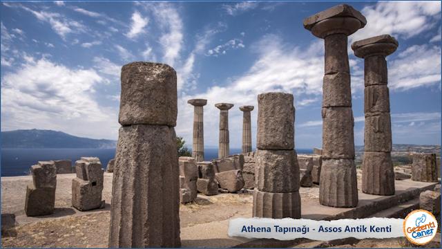 Athena-Tapinagi-Assos-Antik-Kenti