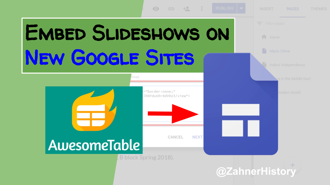 Learning Blog Embed Slideshows In 7 Easy Steps On New Google Sites Block Diagram The Application Is Done Through Case Studies Which Are Often Teacher Driven I Couldnt See Value Being So Much About What